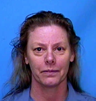 Aileen Wuornos killed seven men in Florida between 1989 and 1990 (public domain, Wikimedia Commons)