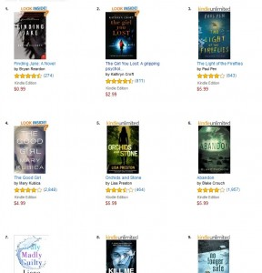 Psychological Suspense Bestsellers