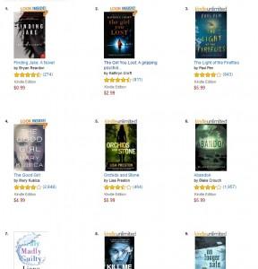 Psychological Suspense Bestsellers