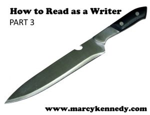 Read Like a Writer Part 3